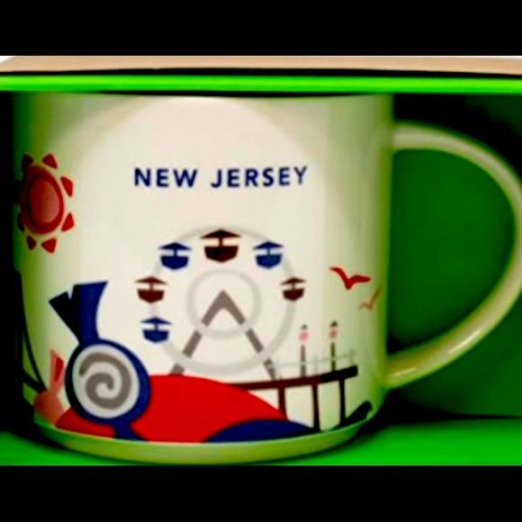 NIB Starbucks New Jersey Mug
